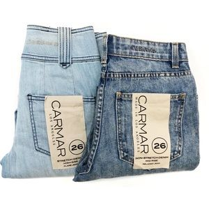 New CARMAR Jeans pack of 2 size 26